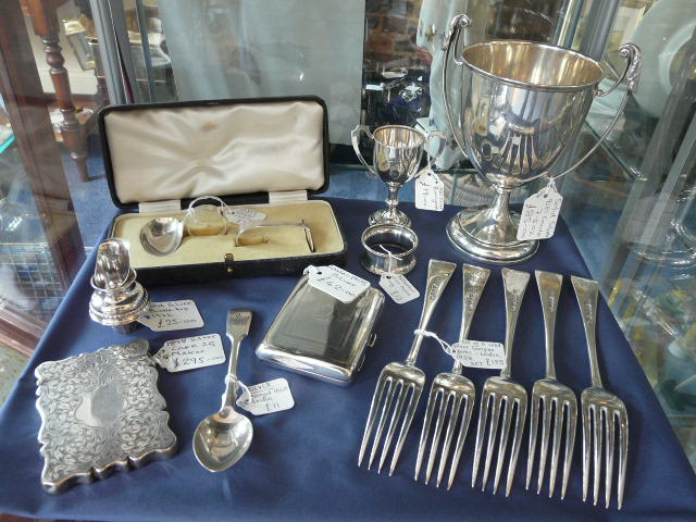 Always new stock of silver coming in