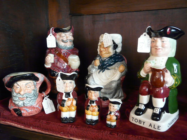Doulton Character Jugs and Toby Jugs