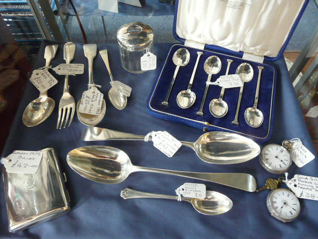 Good selection of high quality silver always bought and sold