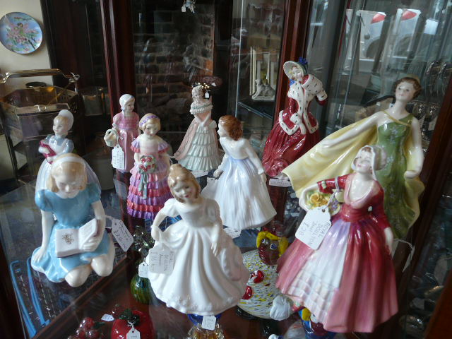 Royal Doulton ladies
